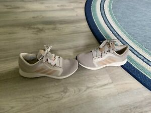 Adidas Edge Lux 4 Women's Running Shoe Size 7.5 FW9264 Bliss Pale Nude NEW