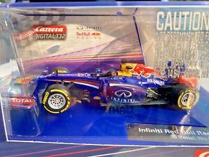 Carrera 30693 Digital & Analog F1 Infiniti Red Bull S. Vettel #1 1/32 Slot Car