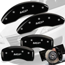2013-2018 Sentra SL SR Front Rear Black MGP Brake Disc Caliper Covers 4pc Set