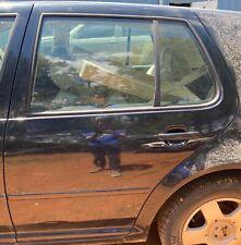 99-05 OEM VOLKSWAGEN GOLF GTI MK4 REAR LEFT DRIVER SIDE BARE DOOR BLACK