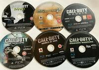 6 x Call Of Duty PS3 Games Disc Bundle Playstation 3 / Modern Warfare Ghosts #2