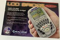 Excalibur LCD Bridge Electronic Handheld Game Model 417  Box & Manual Included