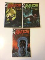Complete Set The Amazon #1 2 3 Dark Horse Comics (2009) VF/NM Seagle Sale