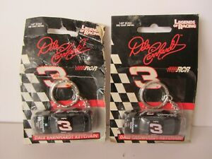RCR Legends of Racing - 2 Dale Earnhardt  #3 Monte Carlo  Keychains  (1020)