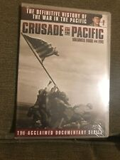 DVD Set Of 3 Discs Crusade in the Pacific- Documentry Series- Volumes 1-6