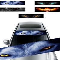Car Front Rear Windshield Sticker Terror Decor 3D Sunshade Decals Universal