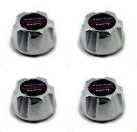 4 American Racing Chrome Wheel Center Hub Caps 5x4.75 5x120.65 AR62 Outlaw II