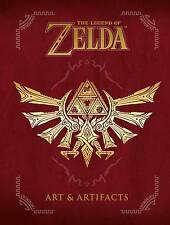LEGEND OF ZELDA: ARTS AND ARTIFACTS HARDCOVER Vidio Game Art Comics HC