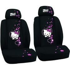 Auto Sitzbezug Set Hello Kitty schwarz Sitzbezüge Schonbezüge universal vorne