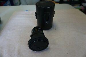 Soligor Zoom Macro Lens 28-80 mm C/D F:3.5-4.5 No. 37901636 MC