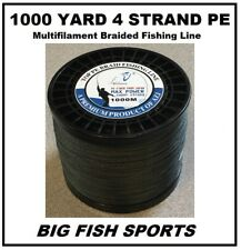 1000M /100LB Super Strong 4 Strand Pro PE Power Braided Fishing Line 1000 YD NEW