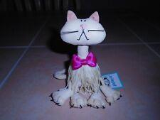 "VERY RARE Jellycat London Fringe Benefits CAROLINA CAT 5"" Plush NEW NWT"