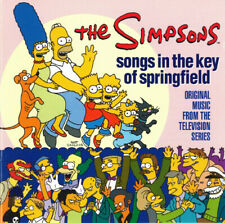 THE SIMPSONS - SONGS IN THE KEY OF SPRINGFIELD - CD ALBUM our ref 1711