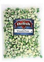 Wasabi Peas - Crunchy Oriental Spicy Snack - by Its Delish (4 lbs)