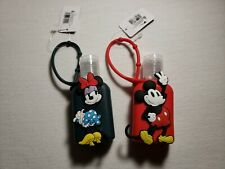 Disney Mickey & Minnie Bac Holder Sleeve for Hand Santizer Set of 2 Free S&H
