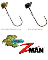 Z-MAN Jigheads ShroomZ 1/6oz Finesse Power NED Rig (PJH16) Any 2 Colors