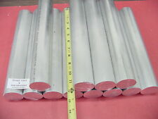"""12 pieces 2"""" ALUMINUM ROUND 6061 ROD 12"""" long 2.00"""" Solid NEW Lathe Bar Stock"""