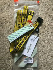 Off White Yellow Mini industrial logo belt brand new Authentic RRP £125