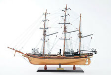 "CSS Alabama 32"" Wooden Quality Tall Ship Model w/o Sail Handmade 1862 Civil War"