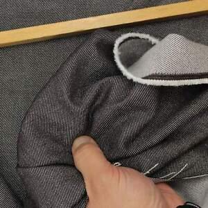 Tissu Jeans Braun Coton Viscose Mélange Léger Fort Robuste Article au Mètre