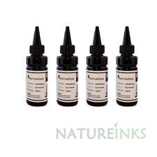4 Universal Refill Black Ink dye Bottle for CISS or refillable cartridges