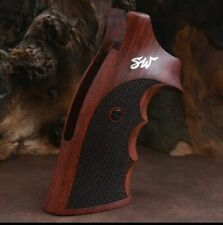 Smith&Wesson k&L&X Frame grips made of rosewood and custom silver Logo