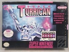 Super Turrican (Super Nintendo | SNES) Authentic BOX ONLY