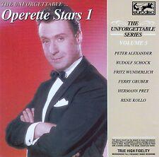 THE UNFORGETTABLE SERIES VOL. 5 - OPERETTE STARS 1 / CD - TOP-ZUSTAND