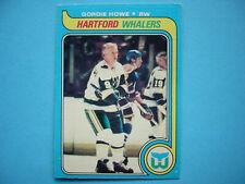 1979/80 O-PEE-CHEE NHL HOCKEY CARD #175 GORDIE HOWE EX EX/NM SHARP!! 79/80 OPC