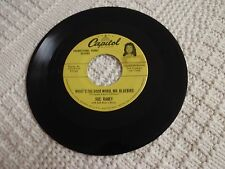 SUE RANEY WHAT'S THE GOOD WORD MR BLUEBIRD/CARELESS YEARS CAPITOL DEBUT PROMO
