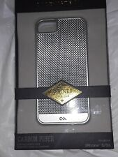 Case Mate Refined Collection  Carbon Fiber Iphone 5 And 5s Case new