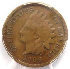 1909-S Indian Cent 1C Coin - PCGS VF25 - Rare Key Date Penny - $525 Value!