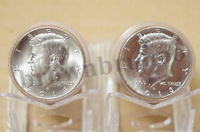 2016 P&D Kennedy Half Dollar Uncirculated 2 Coins Philadelphia & Denver Mint 50c