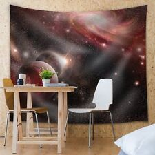 Wall26 - Red Galaxies - Fabric Tapestry, Home Decor - 68x80 inches