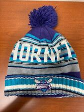 Charlotte Hornets Stocking Cap Hat Beanie Winter Knit Cap Mitchell & Ness