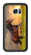 Sunset Running Horse For Samsung Galaxy S7 G930 Case Cover by Atomic Market