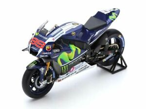 1:12 Yamaha YZR-M1 Winner French MotoGP by Spark in Dark Blue M12004