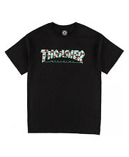 Thrasher Roses T-Shirt Men's Black Medium
