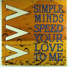 """12"""" Maxi - Simple Minds - Speed Your Love To Me (Extended Mix) - M761"""