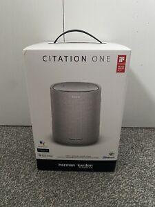 Harman Kardon Citation One Smart Grey Speaker Brand New & Unopened