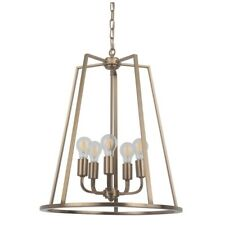 Craftmade Arc 5 Light Foyer, Satin Brass - 45935-SB
