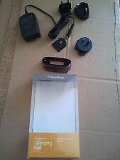 BlackBerry Charging pod,,Ladestation BOLD 9700/9780 Mit 4 ST Reiseadapter NEU!!