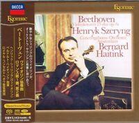 Beethoven Violin Concerto Romance Szeryng Haitink Japan Esoteric SACD ESSD-90105