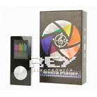 Reproductor MP4 Video Radio FM DE 8GB Media Player Negro y Plata d346