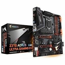 GIGABYTE Z370 AORUS Ultra Gaming 2.0 ATX Form Factor for Intel 8th Gen Coffee