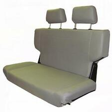 """1966-1977 Early Ford Bronco Fold and Tumble Rear Bench Seat 40"""" Gray, Nice! New"""