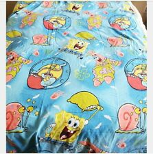 2009 Nickelodeon Spongebob and Friends Pajama Party Twin Flat Sheet