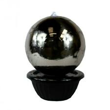 50cm Sphere Luxury Stainless Steel Garden Patio Water Feature with Led Lights