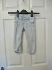 NEXT BABY GIRLS LIGHTWASH SKINNY JEANS AGE 12-18 MONTHS