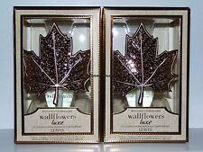 Bath & Body Works Luxe Leaf Leaves Wallflower Starter Pack x2